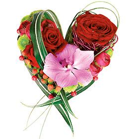 Dans une semaine c 39 est la saint valentin le pouvoir des for Bouquet saint valentin