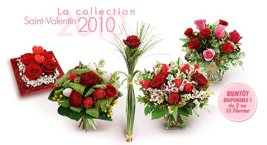 Bouquets fleurs saint valentin - Saint valentin fleurs ...