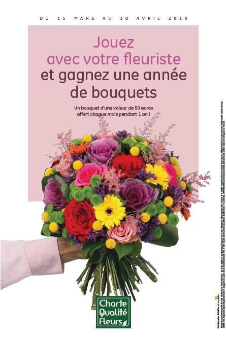 Jouez chez votre fleuriste le pouvoir des fleurs for Fleuristes et fleurs