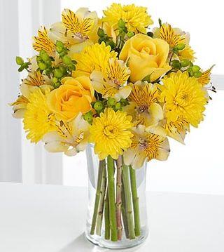 Le pouvoir des fleurs fleurs for Bouquet de fleurs jaunes