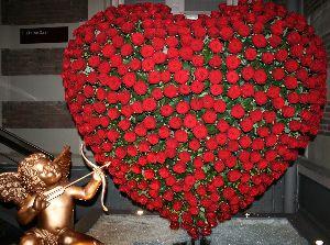 Un c ur pour la st valentin le pouvoir des fleurs - Un gros coeur d amour ...