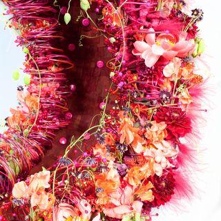 MOF fleuriste 2011, Charline Pritscaloff, detail de la chaise virtuelle