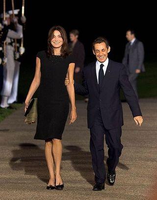 Carla Bruni et Nicolas Sarkozy, le Président qui connait toutes les fleurs