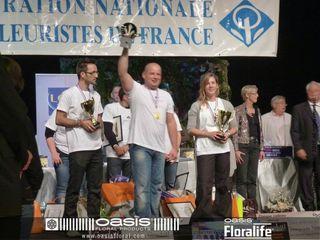 Coupe de France des Fleuristes, Le gagant Stéphane CHANTELOUBE