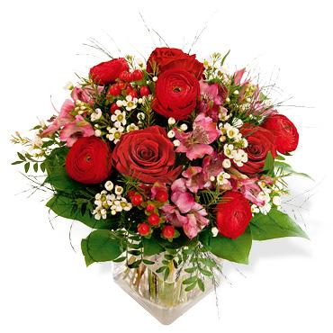bouquet st valentin interflora capri et attraction le. Black Bedroom Furniture Sets. Home Design Ideas