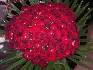 Bquet roses rouges