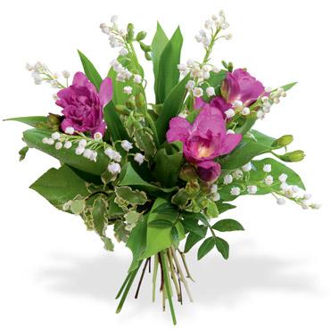 Le muguet du 1er mai avec interflora le pouvoir des fleurs for Bouquet de fleurs humour