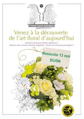 Interflora-affiche-coupe Dijon