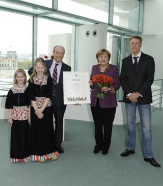Tulipe Angela Merkel