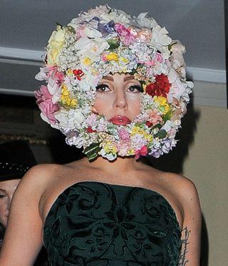 Ladi gaga de fleurs
