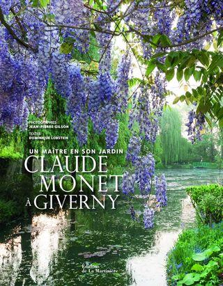 Monet-jardin-livre