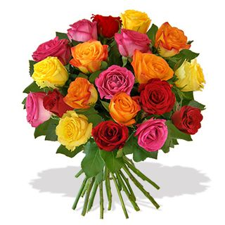 Interflora-brassée de 20 roses