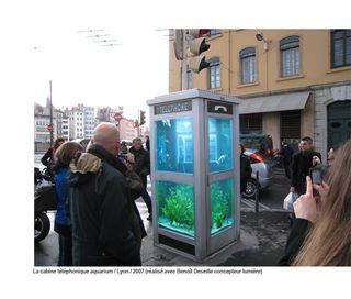 Cabine aquarium