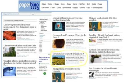Paper blog classement 2013