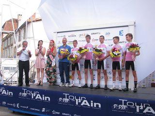 TDA-podium