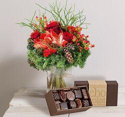 Interflora minuit et chocolat