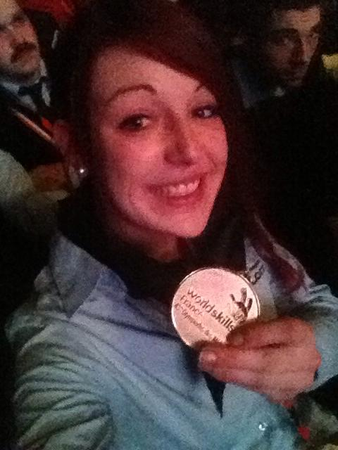 Emma Lagier médaille d'Or