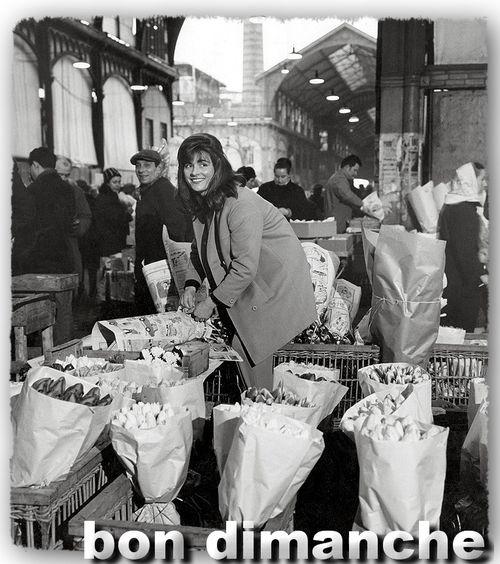 Les halles 1968 Robert Doisneau via Mimbeau