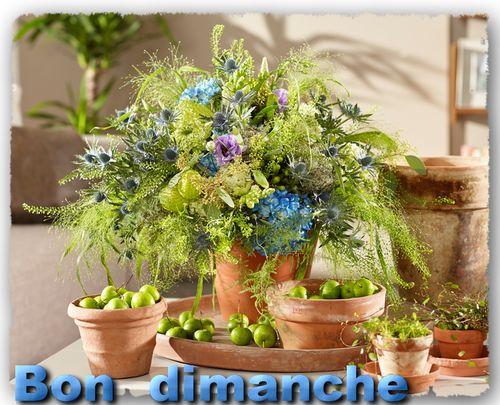 Bouquet d'été via fleurs magazine