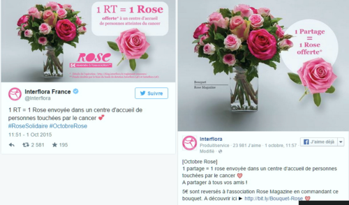 Interflora bouquet solidaire 3