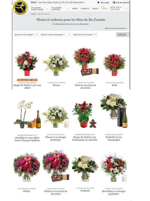 Interflora noel 2015 A