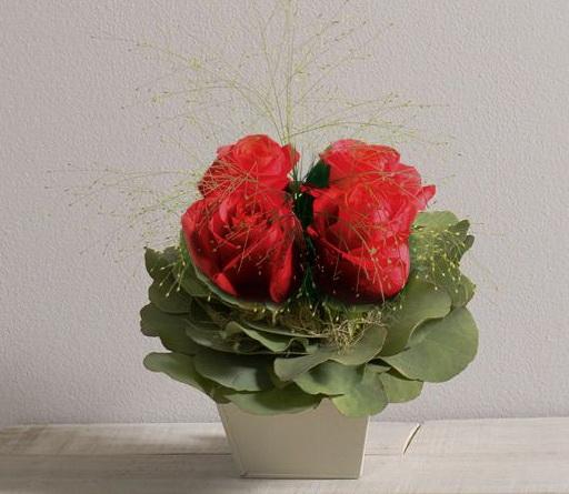 Interflora St valentin Poudré