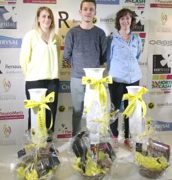 Coupe espoir Interflora Bretagne podium