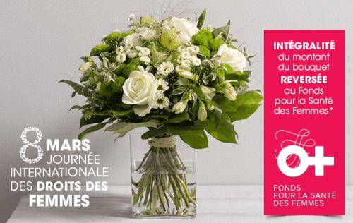 Interflora bouquet solidaire