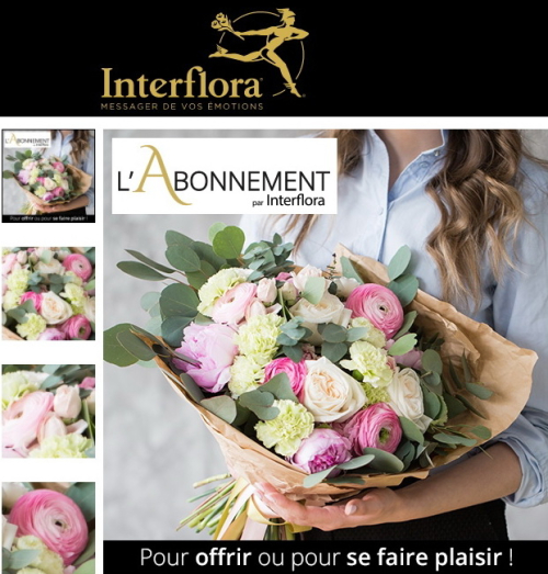 Abonnement interfflora