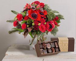Interflora noël et chocolat