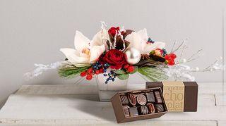 Interflora célébration et chocolat