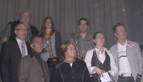 Georges en 2009 Coupe espoir Interflora