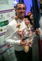 Mondial fleuriste Cedric Tranchant