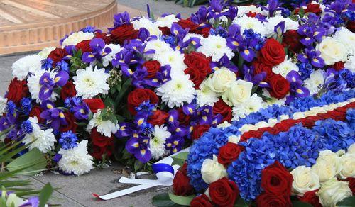 Fleurs tricolores