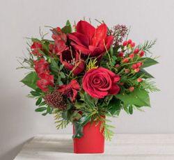 Bouquet noël Inteflora