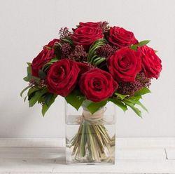 Bouquet roses interflora