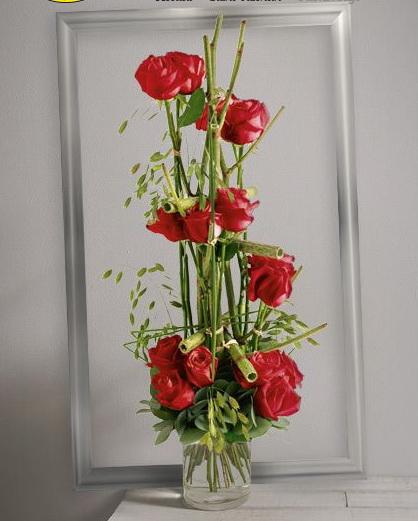 Interflora St valentin Plume