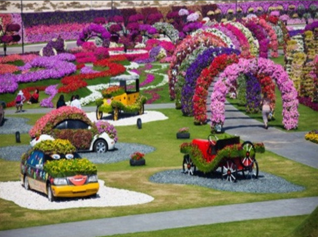 Jardin miracle Dubaï 03