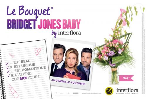 Interflora Bridget Jones