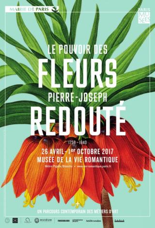 Pierre-Joseph Redouté expo Paris