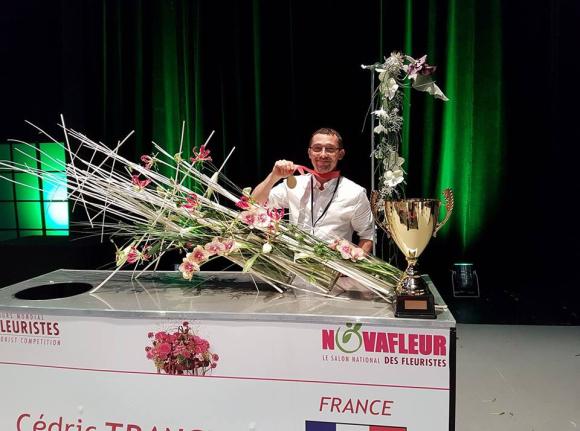 Cédric Tranchant champion du monde
