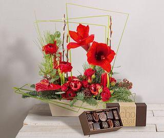 Interflora festivité et chocolat