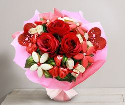 Interflora St Valentin Amour gourmand