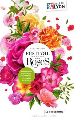 Festival roses