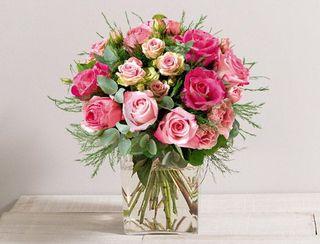 Interflora fête des Mères bouquet de l'amour