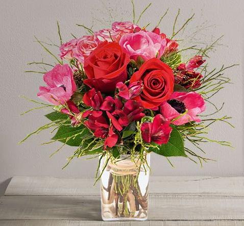 Interflora St valentin Kiss