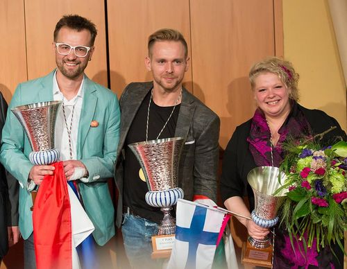 Coupe europa podium