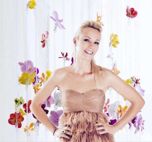 Elodie Gossuin ambassadrice des Orchidées 3