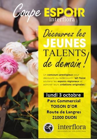 Coupe espoir - Interflora Bourgogne Franche-comté