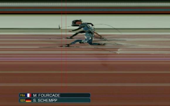 Martin Fourcade finish